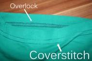 Overlock und Coverstitch