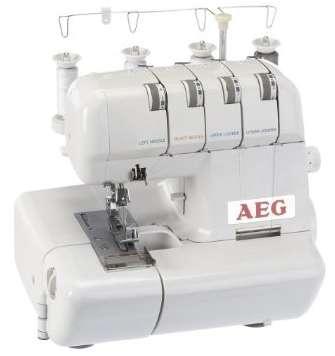 Test der AEG 320 Overlock