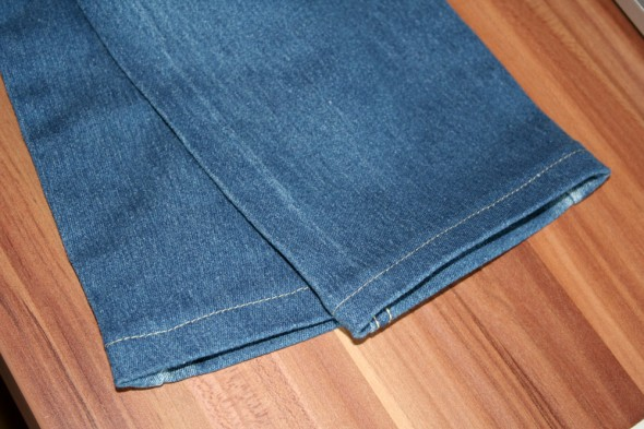 gekürzte Jeans/Hose
