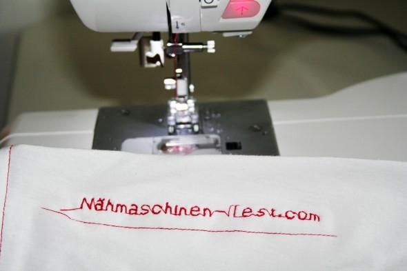 W6 N 5000: Buchstaben nähen